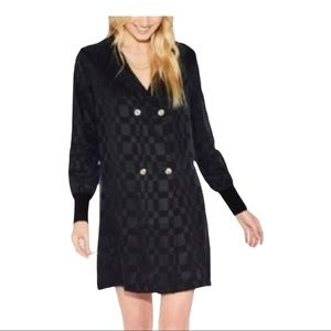 CALLAHAN DEVENY BLACK JACKET DRESS REVOLVE NWT S